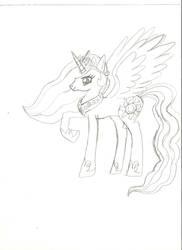 Princess Celestia by AppleJack256