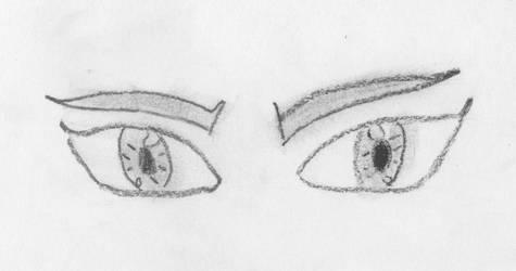 Ojos Anime by Aascanio1996