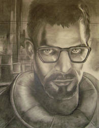 Rise and shine, Mr. Freeman... by KappyRayne