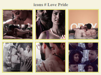 icons # love pride by RavenLSD