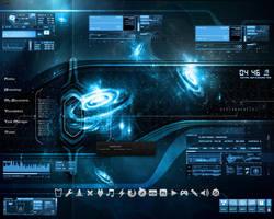 Desktop - QuasarBurst by df006