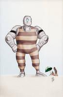 Atomic Robo -Sharp Dressed Man by JamesLynch