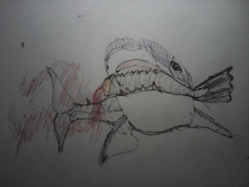 Cruel Shark by JnJrz