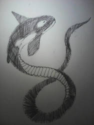 Whale Snake by JnJrz