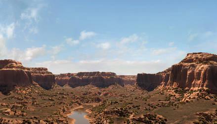Southwest Red Rocks by Buzzzzz