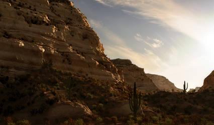 Desert Evening by Buzzzzz