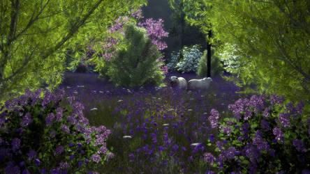 Lavender 2 by Buzzzzz