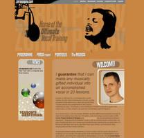 Zoran Popov website by brankovukelic