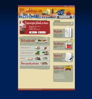 MilicinaKuhinja.com homepage by brankovukelic