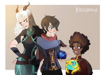 The Dragon Prince by Kalendoola