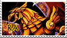 Winged Dragon of Ra Stamp 2. by HausofChizuru