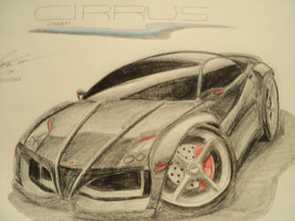 'Cirrus' concept car by prestonthecarartist