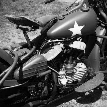 Army Bike by prestonthecarartist
