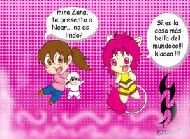 Melivillosa y Zana by azulsinuhe