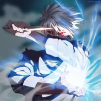 Kakashi's battle by Hvostik