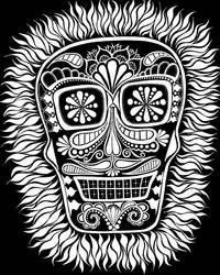 Dia de los Muertos inverted by ballofplasma