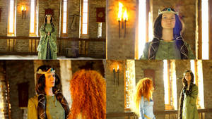 Elinor and Merida (movie) by shua-cosplay