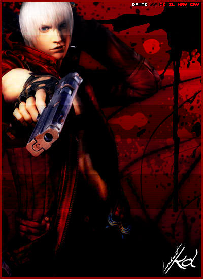 DMC3 Dante Graphic by LionheartKD