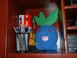 Pandaris Oddish made for Me by LionheartKD