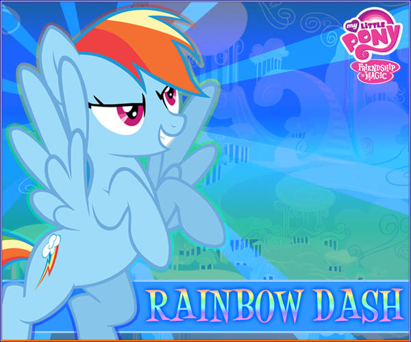 Rainbow Dash MLP:FiM by LionheartKD