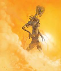 Sunwalker by TheGlome