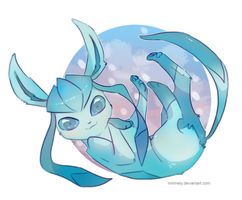 Glaceon by Himmely