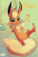 Flareon by Himmely