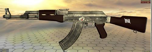 AK47 Wolverine by WanderingGoose