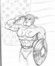 Captain America by CharlieAabo