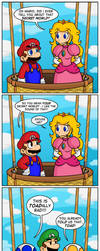 New Super Mario Bros. Wii: Ending by Gabasonian