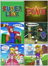 Super Link - The Legend of Peach by Gabasonian