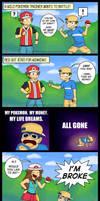 Wild Pokemon Trainers by Gabasonian