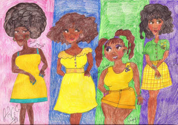 The Characters of Ibi Zoboi's Pride by Toongrrl