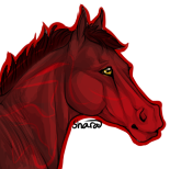 Hellfire Portrait by Disneyhorse