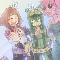 Collab: My Hero Girls! by Sealestial