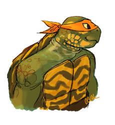 Ornate Box Turtle Mikey by WinterHeath