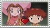 Koushiro x Mimi Stamp by TuxedoMoroboshi