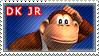 Donkey Kong Jr. Stamp by TuxedoMoroboshi