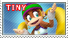 Tiny Kong Stamp by TuxedoMoroboshi
