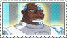 Cyborg Stamp by TuxedoMoroboshi