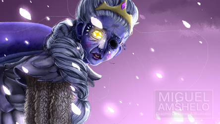 Moon - Tough love by miguel-amshelo