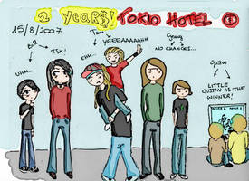2 years of Tokio Hotel by SushyXD