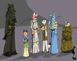MT: Cast by TiredOrangeCat
