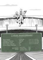 2 year anniversary by TiredOrangeCat