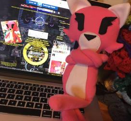 Plush Katt now available by TiredOrangeCat