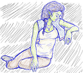 Ten-penny -Sketch 3 AKA Technical Difficulties by TaylorBrooke123
