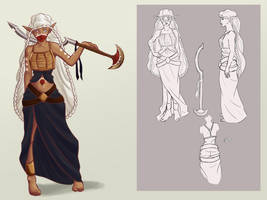 Daragona Character Design by foreverfornever740