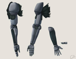 Mechanical Arm by foreverfornever740