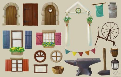 Village Props by foreverfornever740