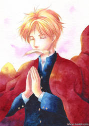 Natsume Takashi by lahcas